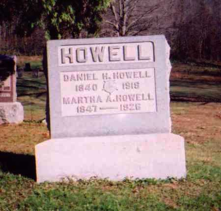 HOWELL, MARTHA A. - Meigs County, Ohio | MARTHA A. HOWELL - Ohio Gravestone Photos