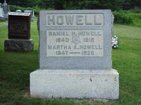 HOWELL, MARTHA A. - Meigs County, Ohio | MARTHA A. HOWELL - Ohio Gravestone Photos
