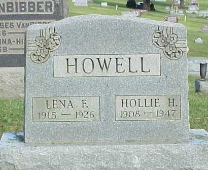 HOWELL, HOLLIE H. - Meigs County, Ohio | HOLLIE H. HOWELL - Ohio Gravestone Photos