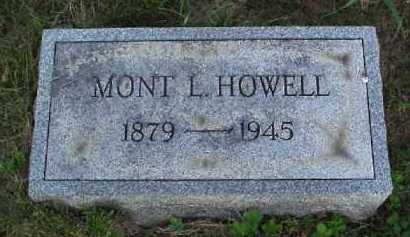 HOWELL, MONT L. - Meigs County, Ohio | MONT L. HOWELL - Ohio Gravestone Photos