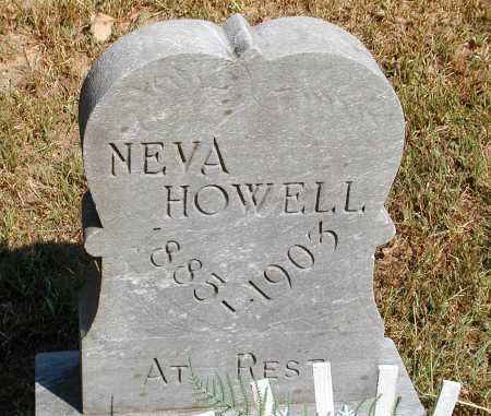 HOWELL, NEVA - Meigs County, Ohio | NEVA HOWELL - Ohio Gravestone Photos