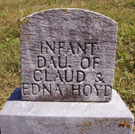 HOYD, INFANT DAUGHTER - Meigs County, Ohio | INFANT DAUGHTER HOYD - Ohio Gravestone Photos
