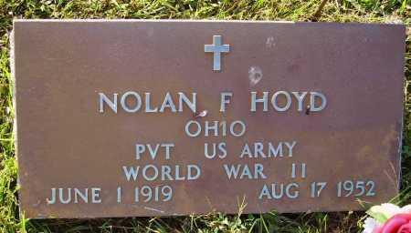 HOYD, NOLAN F. - Meigs County, Ohio | NOLAN F. HOYD - Ohio Gravestone Photos