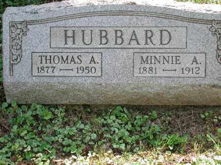 BEARHS HUBBARD, MINNIE A. - Meigs County, Ohio | MINNIE A. BEARHS HUBBARD - Ohio Gravestone Photos