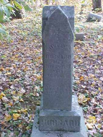 HUBBARD, WILLIAM - Meigs County, Ohio | WILLIAM HUBBARD - Ohio Gravestone Photos