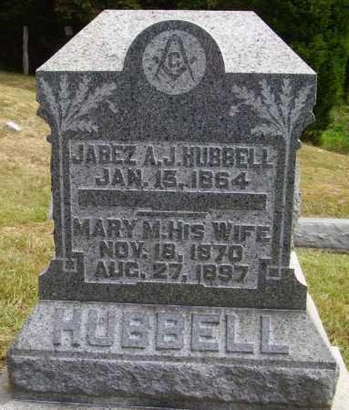 HUBBEL, MARY M. - Meigs County, Ohio | MARY M. HUBBEL - Ohio Gravestone Photos