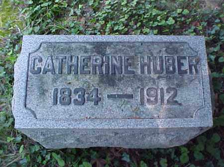 HUBER, CATHERINE - Meigs County, Ohio | CATHERINE HUBER - Ohio Gravestone Photos