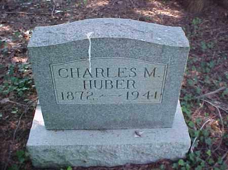 HUBER, CHARLES M. - Meigs County, Ohio | CHARLES M. HUBER - Ohio Gravestone Photos