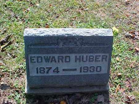 HUBER, EDWARD - Meigs County, Ohio | EDWARD HUBER - Ohio Gravestone Photos