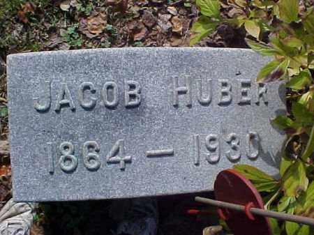 HUBER, JACOB - Meigs County, Ohio | JACOB HUBER - Ohio Gravestone Photos