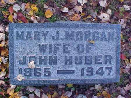 MORGAN HUBER, MARY J. - Meigs County, Ohio   MARY J. MORGAN HUBER - Ohio Gravestone Photos