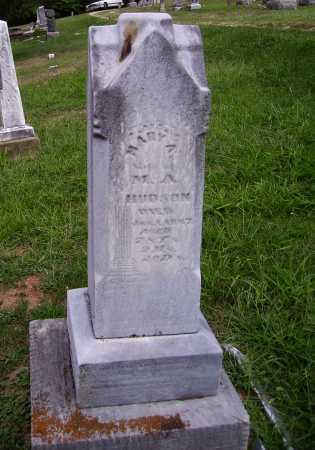 HUDSON, MARY A. - Meigs County, Ohio | MARY A. HUDSON - Ohio Gravestone Photos