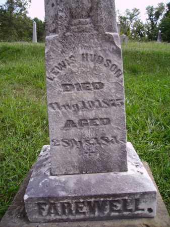 HUDSON, LEWIS - CLOSEVIEW - Meigs County, Ohio   LEWIS - CLOSEVIEW HUDSON - Ohio Gravestone Photos