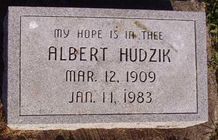 HUDZIK, ALBERT - Meigs County, Ohio   ALBERT HUDZIK - Ohio Gravestone Photos