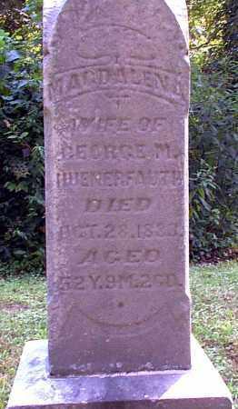 HUENERFAUTH, MAGDALENA - Meigs County, Ohio | MAGDALENA HUENERFAUTH - Ohio Gravestone Photos