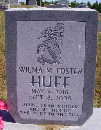 FOSTER HUFF, WILMA M. - Meigs County, Ohio | WILMA M. FOSTER HUFF - Ohio Gravestone Photos