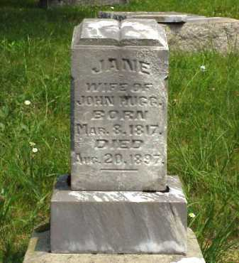 DAINS HUGG, JANE - Meigs County, Ohio   JANE DAINS HUGG - Ohio Gravestone Photos