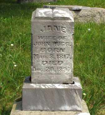 DAINS HUGG, JANE - Meigs County, Ohio | JANE DAINS HUGG - Ohio Gravestone Photos