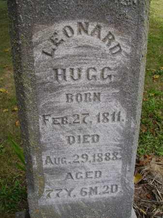 HUGG, LEONARD - CLOSE VIEW - Meigs County, Ohio   LEONARD - CLOSE VIEW HUGG - Ohio Gravestone Photos