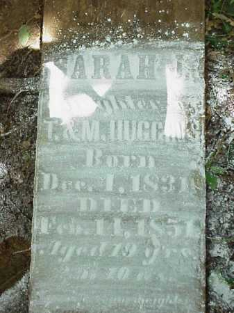 HUGGINS, SARAH J - Meigs County, Ohio   SARAH J HUGGINS - Ohio Gravestone Photos