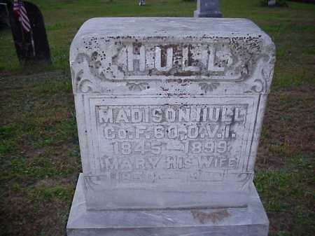 HULL, MARY - Meigs County, Ohio | MARY HULL - Ohio Gravestone Photos