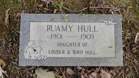 HULL, RUAMY - Meigs County, Ohio | RUAMY HULL - Ohio Gravestone Photos