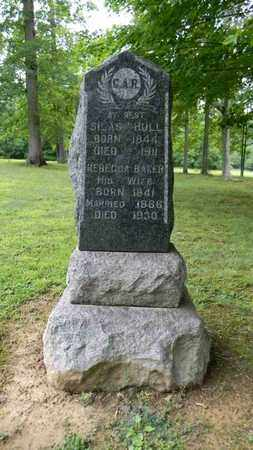 BAKER HULL, REBECCA - Meigs County, Ohio   REBECCA BAKER HULL - Ohio Gravestone Photos