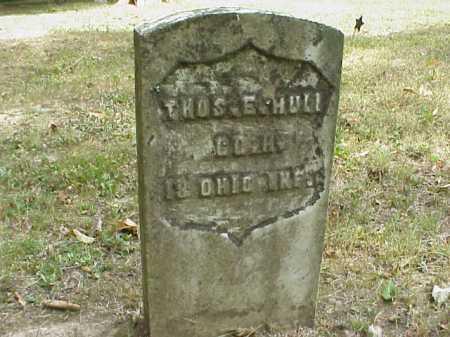 HULL, THOMAS E. - Meigs County, Ohio | THOMAS E. HULL - Ohio Gravestone Photos
