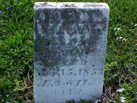 HUMMET, MARY E. - Meigs County, Ohio | MARY E. HUMMET - Ohio Gravestone Photos