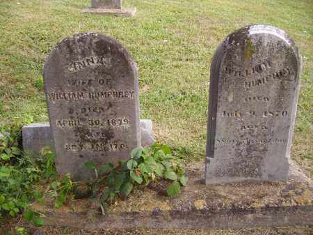 BELLOWS HUMPHREY, ANNA - Meigs County, Ohio | ANNA BELLOWS HUMPHREY - Ohio Gravestone Photos