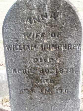 HUMPHREY, ANNA - Meigs County, Ohio   ANNA HUMPHREY - Ohio Gravestone Photos