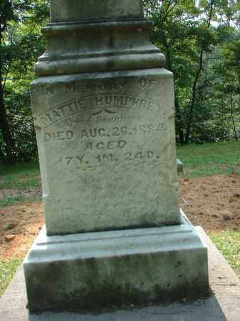 HUMPHREY, MATTIE - Meigs County, Ohio   MATTIE HUMPHREY - Ohio Gravestone Photos