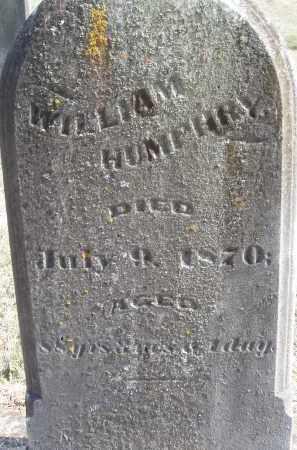 HUMPHRY, WILLIAM - Meigs County, Ohio | WILLIAM HUMPHRY - Ohio Gravestone Photos