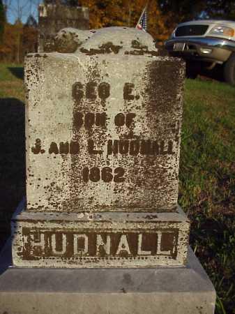 HUNDALL, GEO. E. - Meigs County, Ohio   GEO. E. HUNDALL - Ohio Gravestone Photos