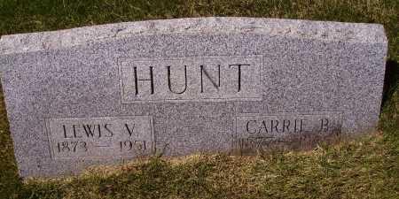 HUNT, CARRIE B. - Meigs County, Ohio | CARRIE B. HUNT - Ohio Gravestone Photos