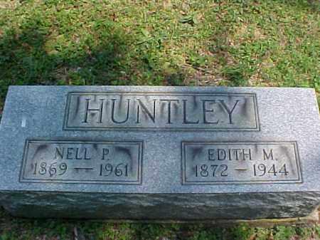 HUNTLEY, NELL P. - Meigs County, Ohio   NELL P. HUNTLEY - Ohio Gravestone Photos