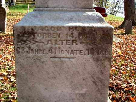 HUST, JACOB - Meigs County, Ohio   JACOB HUST - Ohio Gravestone Photos