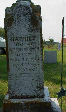 HUTCHINSON, HARRIET - Meigs County, Ohio | HARRIET HUTCHINSON - Ohio Gravestone Photos