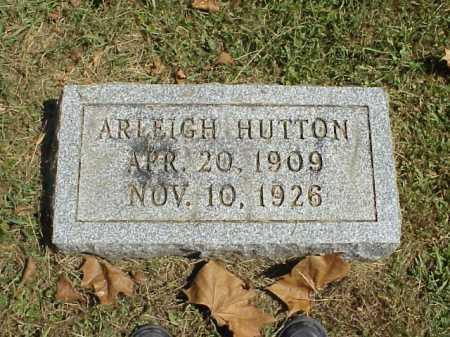 HUTTON, ARLEIGH - Meigs County, Ohio | ARLEIGH HUTTON - Ohio Gravestone Photos
