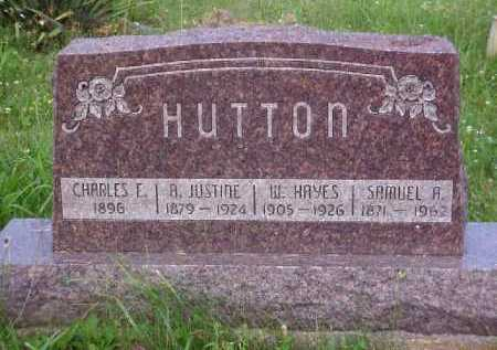 HUTTON, CHARLES E. - Meigs County, Ohio | CHARLES E. HUTTON - Ohio Gravestone Photos