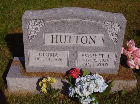 HUTTON, EVERETT L. - Meigs County, Ohio | EVERETT L. HUTTON - Ohio Gravestone Photos