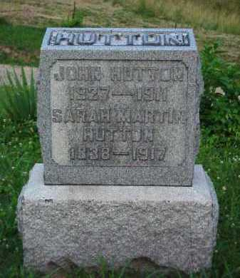 HUTTON, JOHN - Meigs County, Ohio | JOHN HUTTON - Ohio Gravestone Photos