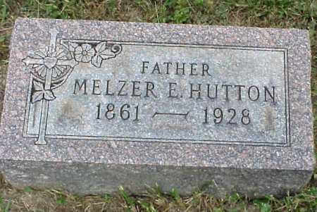 HUTTON, MELZER E. - Meigs County, Ohio | MELZER E. HUTTON - Ohio Gravestone Photos