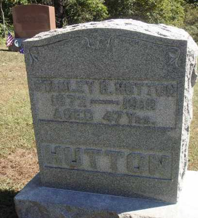 HUTTON, STANLEY B. - Meigs County, Ohio | STANLEY B. HUTTON - Ohio Gravestone Photos