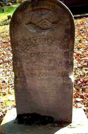 HYSELL, HENRY F. - Meigs County, Ohio | HENRY F. HYSELL - Ohio Gravestone Photos