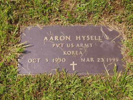 HYSELL, AARON - Meigs County, Ohio   AARON HYSELL - Ohio Gravestone Photos