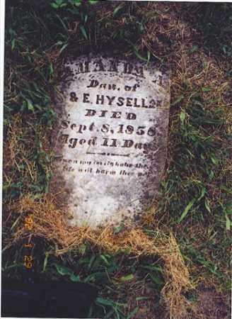 HYSELL, AMANDA A. - Meigs County, Ohio | AMANDA A. HYSELL - Ohio Gravestone Photos