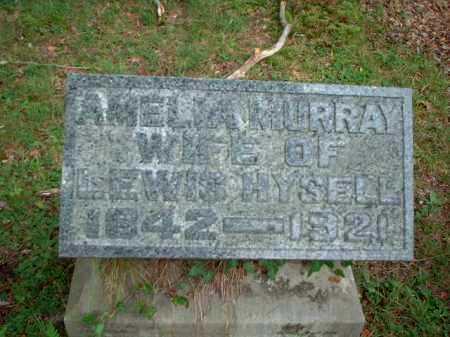 HYSELL, AMELIA MURRAY - Meigs County, Ohio   AMELIA MURRAY HYSELL - Ohio Gravestone Photos