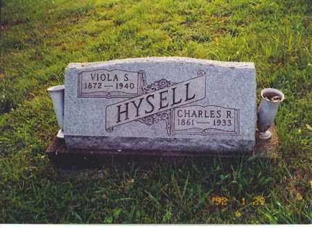 HYSELL, CHARLES R. - Meigs County, Ohio | CHARLES R. HYSELL - Ohio Gravestone Photos