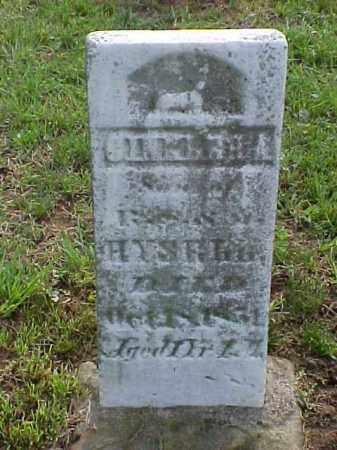 HYSELL, CHARLES A. - Meigs County, Ohio | CHARLES A. HYSELL - Ohio Gravestone Photos